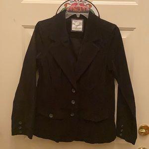 Women's slim corduroy blazer